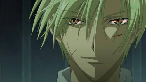 I don't know if this counts but it's the only thing I can think of. Mikage after Ayaname takes full control of him.