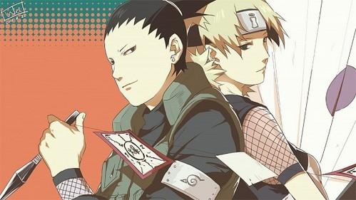 Nara shikamaru and Temari from Naruto. Also, Hashirama x Mito, IchiRuki, RoyAi, LelouchCC.
