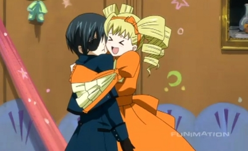 Ciel, Grell, and Lizzie. <33