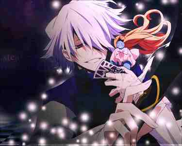 1 pandora hearts as is 愛 the charcters (break is the best character) and the story line is grate however i have a bit of truble as it's not been dubbed into english yet and im not the best of reader, but it's is so werth watching 2 tsubasa chronicles 3 fullmetal alchemist brotherhood 4 durarara 5 kaze no stigema 6 nabari no ou 7 hunter x hunter 8 shaman king 9 pretear 10 d gray man 11 fruits basket 12 fairy tail 13 ouran high school host club 14 darker than black 15 black cat 16 elfen lied 17 rave master 18 baccano 19 death note 20 犬夜叉 The 写真 is of my number 1 anime(break from pandora hearts)