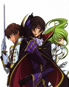 Darker Than Black Code Geass Fairy Tail Vampire Knight Durarara