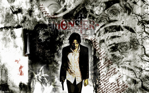 Ghost in the Shell and Monster, oh, and Trinity Blood and Paranoia Agent too. (picture from Monster.)