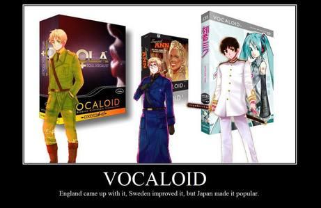 VOCALOID all the waaaaaayyyyyyy!