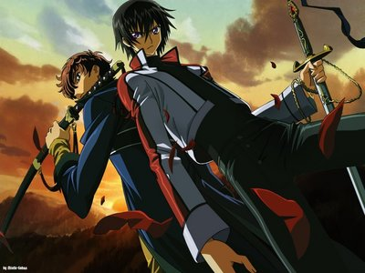 Code Geass is still my #1, the story has such a methodologically detailed plot with interesting characters an a few unexpected moments an twists. I still haven't seen anything that can 上, ページのトップへ it yet. :) The rest are in no particular order: Bleach NARUTO -ナルト- Black Lagoon Hellsing Ultimate Samurai 7 Blue Exorcist Darker Than Black FMA Brotherhood Death Note Baccano! Soul Eater Nabari no Ou デュラララ!! Samurai Champloo エンジェル Beats Vampire Knight Mushi-Shi Casshern Sins Trinity Blood