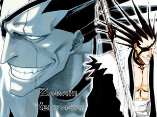 Kenpachi Zaraki from Bleach. :P