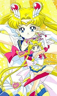 First is Kurumu Kurono segundo is Sailor Moon