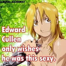 Rin Okumura from Blue Exorcist and Edward Elric from Fullmetal Alchemist. I can't chose between them.