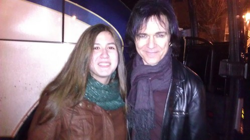 When I went to see Gowan in کنسرٹ and got to meet him after!!! :D :D :D I'll never forget it!!!