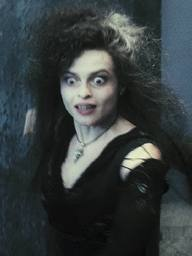I think Bellatrix is crazy. :P