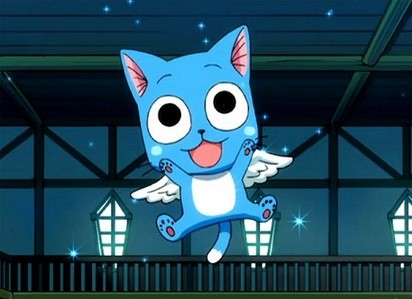 Happy from Fairy Tail OR Luna from Sailor Moon!