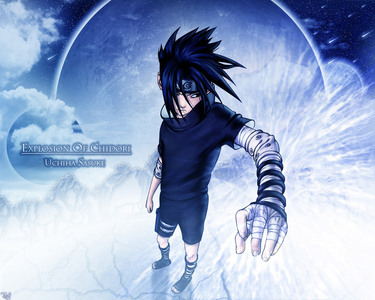 sasuke for one he is bad жопа, попка and two ninja school hell yeh ^_^
