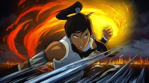 I have SO many choices but for right now I'll pick Korra from Avatar.