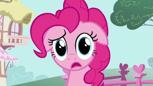 "Pinkie Pie: ""What just happened?"""