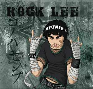 ROCK LEE all my fantasies are about him
