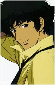 Spike Spiegel he has the lives of a cat