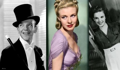 Ginger Rogers! She was amazingly talented, she could sing, dance, and act. She was also very beautiful. My tiếp theo choice would be Fred Astaire, then Judy Garland.