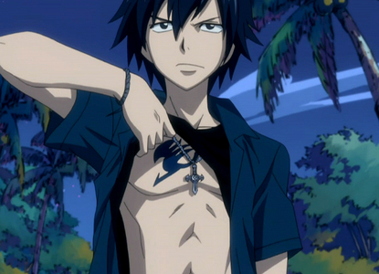 Gray sama from Fairy Tail:>