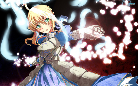 I don't know actually. I have too many waifus to say the least. As of right now I am extremely attached to Saber and Rin Tohsaka from Fate stay night. The pic is of Saber.