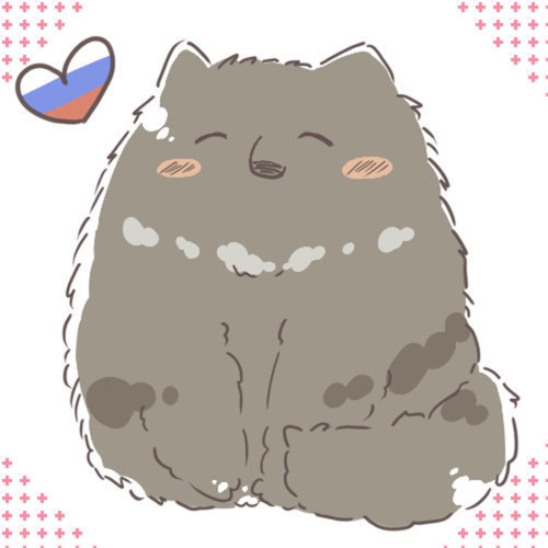 russia-neko. hes soooooo adorable! i amor those kind of gatos with long fur!!