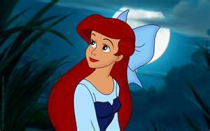 Maybe Ariel - wanting to get away from my boring life and do something bigger and dreaming of a guy who has no idea