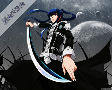 Yu Kanda from D-Grey Man! He's really good with a sword.... you know, his past is extreamly depressing...