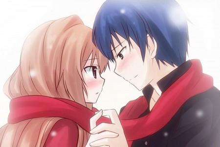 Taiga and Ryuuji from Toradora! Couldn't choose just one XD