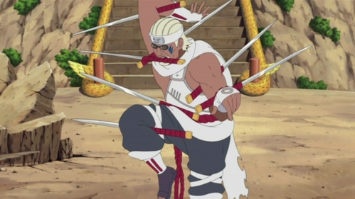 killer Bee from Naruto