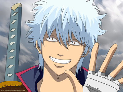 Gintoki Sakata from Gintama, a lazy, good for nothing who carries the soul of the samurai... so yeah, he's the greatest swordsman for me
