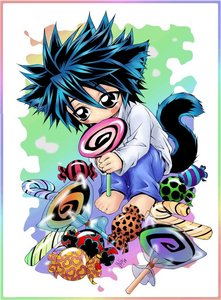 The Detective with a sweet tooth Lawleit bka L(デスノート)