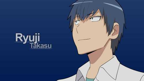 that would be Ryuuji Takasu(Toradora!) i know he doesn't look princely nor hot but man, he knows how to cook! he cares for Taiga so much and wants to protect her! he's sweet!!
