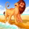 Simba & Nala-The Lion King