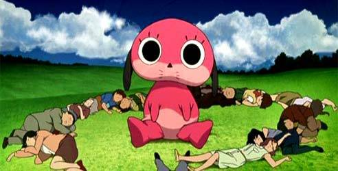 I never hear about Ghost in the Shell, S-Cryed, Eureka Seven または Paranoia Agent. (pic. from Paranoia Agent)