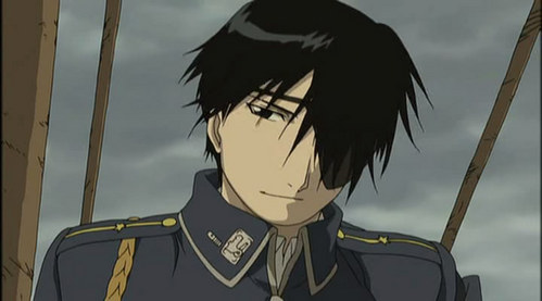 Roy マスタング, マストン Actually this was the 1st FMA I'd ever seen (movie), his character intrigued me so much that i decided to watch the series