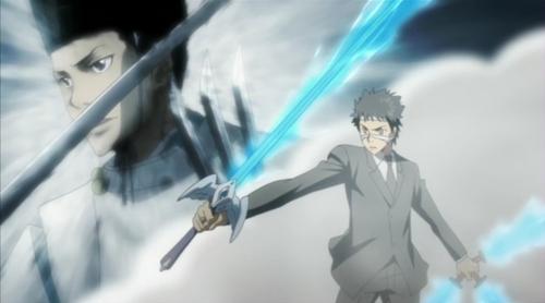 Genkishi, Yamamoto, Squalo and Asari Ugetsu from KHR! Rin from Ao no Exorcist
