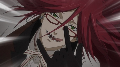My most お気に入り アニメ is 黒執事 and then Bleach and Fairy Tail. My fav character from 黒執事 is Sebastian of course.Grell is my 秒 お気に入り character.He's AWESOME!!!!