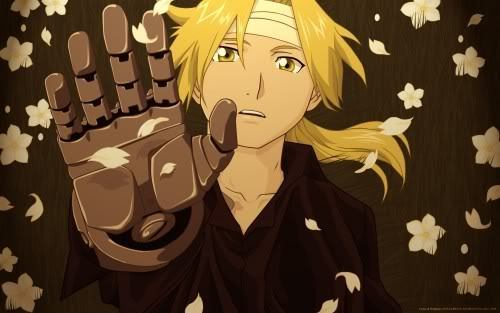 Fullmetal alchemist is my お気に入り アニメ and my お気に入り character is..... Edward Elric (of course)