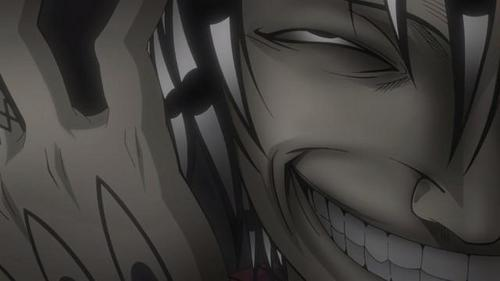 Asura- Soul Eater is totally creepy when he's get'n back into his skin!