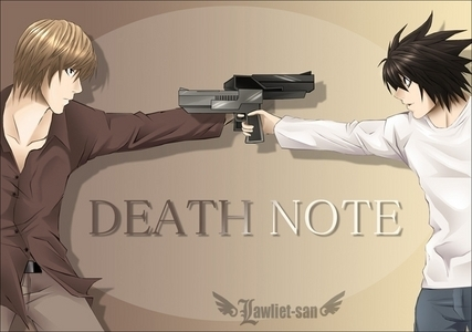 Death Note, and dubhappy.com is usually a good website to go to.