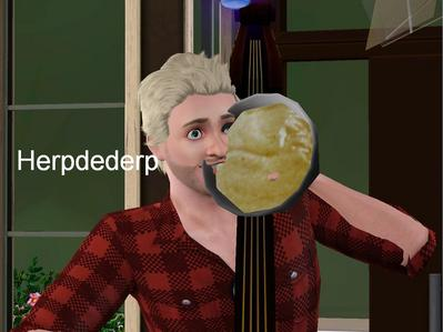 [b][i]I would but i'm playing sims so you know what that means... >:)[/i][/b] HERPDEDERP!~