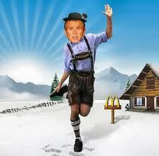 Ha! the old 'I got a cookie' trick! siguiente thing I know I'll be in a camioneta, van wearing a lederhosen!!!