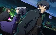 "The anime that comes immediately to mind is ""Darker than Black""