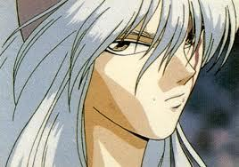 Yoko Kurama! He has some pretty badass eyes! pure kickass!!!