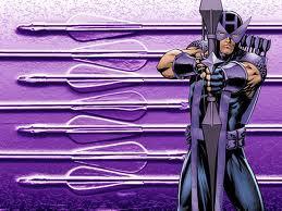 My お気に入り avenger is always will be Hawkeye