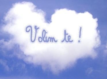 VOLIM TE <3 ВОЛИМ ТЕ <3 serbian language (: