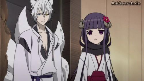 Ririchiyo is part yokai so she can transform into a yokai form.