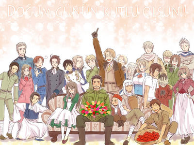 Hetalia!! i dont know what i would do with out it!