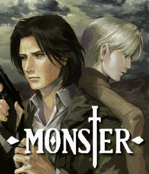 Dr. Tenma and Johan Liebert from the Anime Monster. I Amore this picture of them! <3