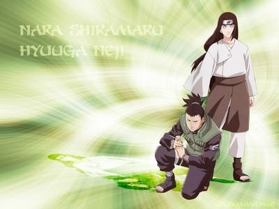 시카마루 Nara and Neji Hyuuga from Naruto! <3 <3 <3