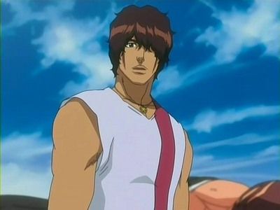 Chad from Bleach he's about 15 on this pic
