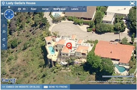She also leases a house in Beverly Hills where she stays occasionally.